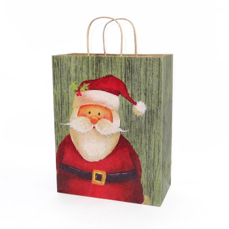 圣诞老人纸袋系列
