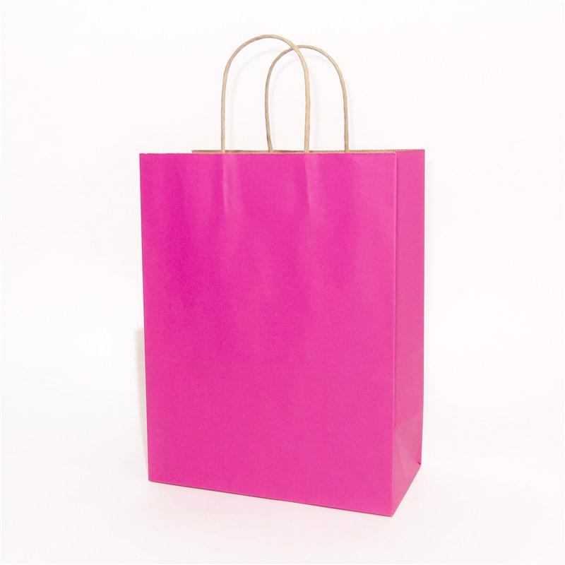 纯色牛皮纸袋粉色系列