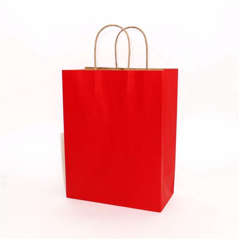 纯色牛皮纸袋红色系列