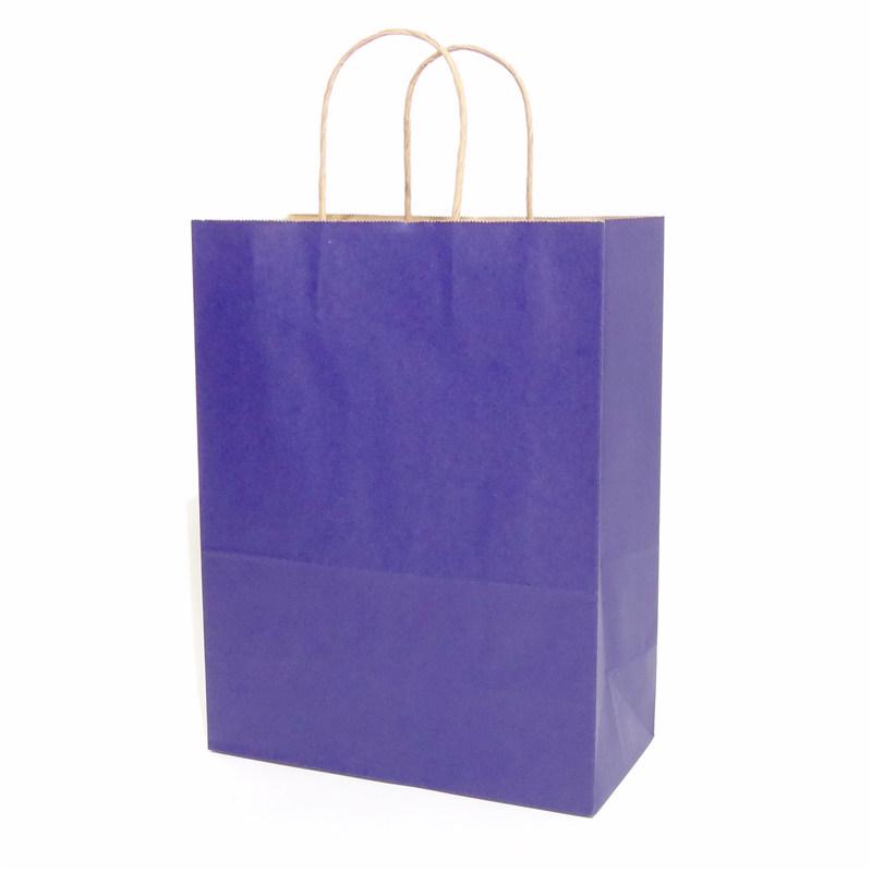 纯色牛皮纸袋蓝色系列