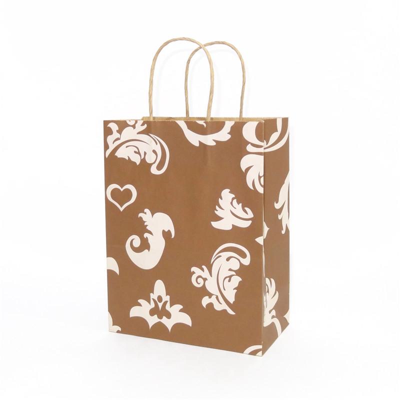 棕色印花本色牛皮纸袋系列