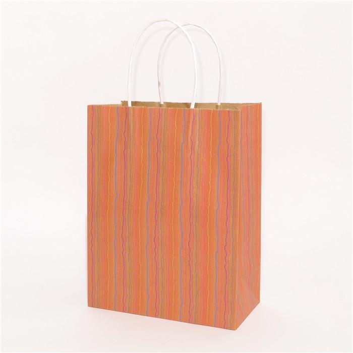 木质条纹本色牛皮纸袋系列